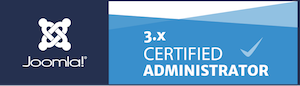 Joomla Certification Badge